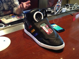 Forget Google Glass, Google Debuts 'Talking Shoe' Concept At SXSWi, Wants More Social, Motivational Everyday Objects | TechWatch | Scoop.it