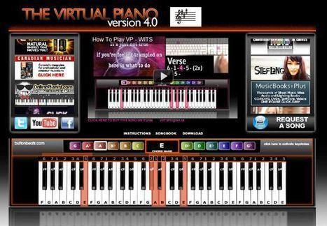 Ressources pour jouer du piano en ligne   Time to Learn   Scoop.it