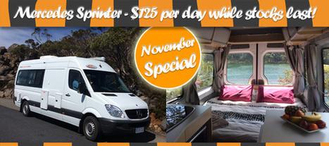 TCR - Tasmania Campervan Rentals - Tasmanian Campervan and Motorhome rentals and hire.   Total Brides   Scoop.it
