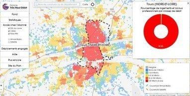 Observatoire Très Haut Débit : découvrez le débit maximum dans votre quartier | Le numérique et la ruralité | Scoop.it