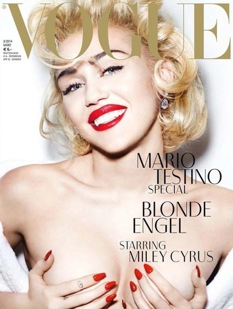 Marilyn Monroe - Madonna – Miley Cyrus | Fashion - Divat | Scoop.it