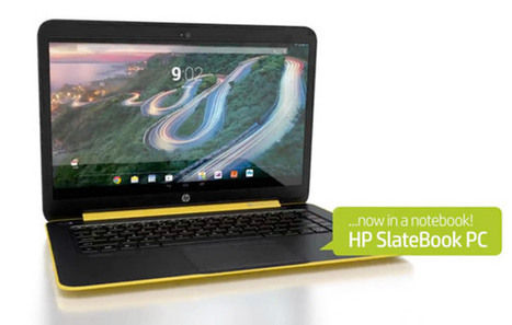 SlateBook 14 : un ordinateur portable HP sous Android | Seniors | Scoop.it