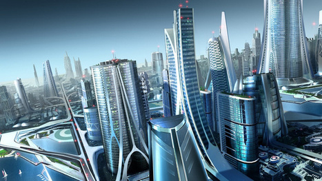 These Futuristic City Wallpapers Will Take Your Breath Away   FutureChronicles   Scoop.it