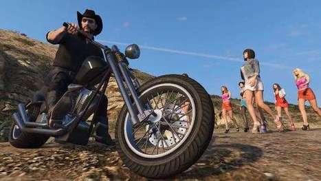 GTA 5 Mod Brings Motorhead's Lemmy to Los Santos | relevant entertainment | Scoop.it