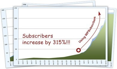 WPSubscribers – Premium Wordpress Subscription Plugin - Triple your opt-in list instantly | WordPress and stuff | Scoop.it
