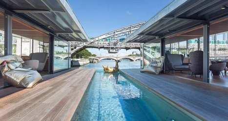 Paris inaugure son premier hôtel flottant | Actu et Tendances Tourisme | Scoop.it