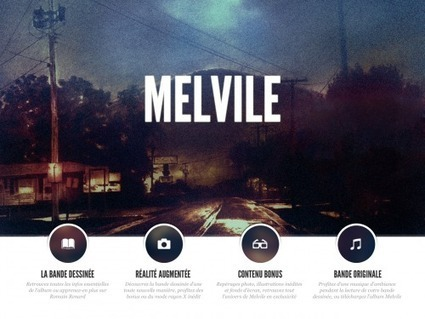 Melvile, une BD en réalité augmentée | Du numérique dans et pour la culture | Scoop.it