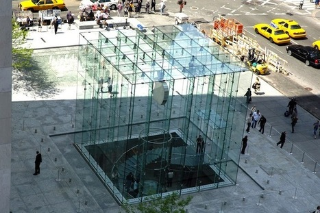 Apple Store - Fifth Avenue :  5to lugar MÁS turístico de New York. | The Architecture of the City | Scoop.it