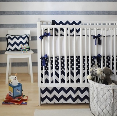 Zig Zag Crib Bedding   Jack and Jill Boutique   Scoop.it