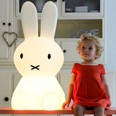 Giant Miffy Lamp | Creative Spotting | 1001 Light ideas ! | Scoop.it