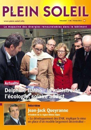 Le pôle de compétitivité DERBI étend son activité en région Midi-Pyrénées   Plein Soleil   LaLIST Veille Inist-CNRS   Scoop.it