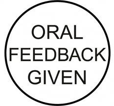 Oral Formative Feedback – Top TenStrategies | leading and learning | Scoop.it