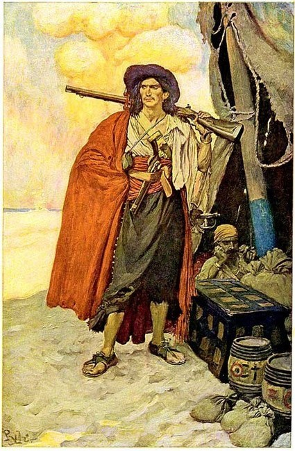 READ NOW: Howard Pyle's Book of Pirates | FUNDY TIDES | Scoop.it
