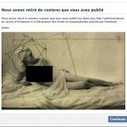 Facebook censure le musée du Jeu de Paume pour une oeuvre artistique de femme nue   Cuerpo   Scoop.it