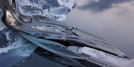 Zaha Hadid's STUDENT Envisions an Antarctic Port For Tourism and Research | The Architecture of the City | Scoop.it
