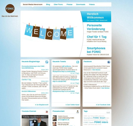 Fonic Newsroom | Social Media Newsrooms | Scoop.it