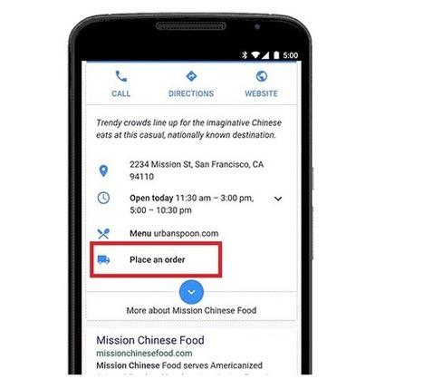 Google Search se lance dans la commande de repas livrés à domicile - #Arobasenet.com | Référencement SEO SEA SMO | Scoop.it