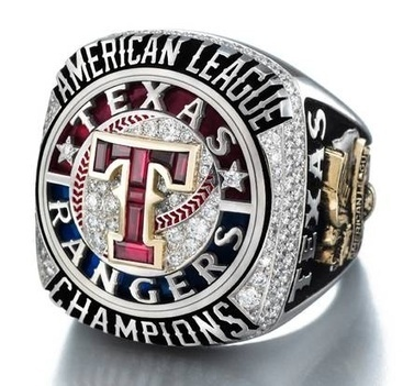 Texas Rangers Championship Sports Ring | Rings of the World | Scoop.it