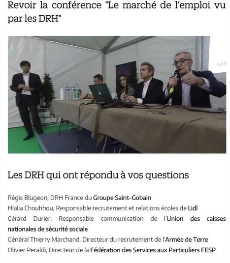 Paris pour l'Emploi : le marché de l'emploi vu par les DRH   Saint-Gobain Careers   Scoop.it