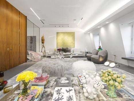 London Penthouse Renovation for a Young Art-Collector Couple | Architecture and Interior Design | Scoop.it
