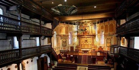 Douze églises à tribunes du Pays basque classées monuments historiques | Généalogie en Pyrénées-Atlantiques | Scoop.it
