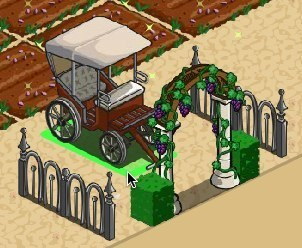 FarmVille Vineyard Decorations: Vineyard Carriage, Vine Arch, Grape Trellis ... - Games.com News (blog) | Get Down On The Farm With Facebook and FARMVILLE | Scoop.it