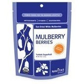 Navitas White Mulberry Sun-Dried White Mulberry Berries (Certified Organic) 8 Oz [NV-WM] - $8.99 : Speedy Health Supplements | Health Supplements in the News | Scoop.it