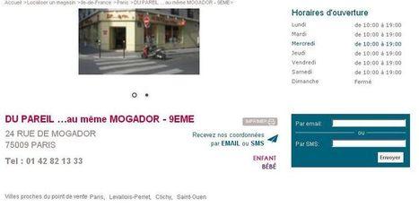 Pour un Store Locator performant - Mon Client Digital | E-commerce & Small Shops | Scoop.it