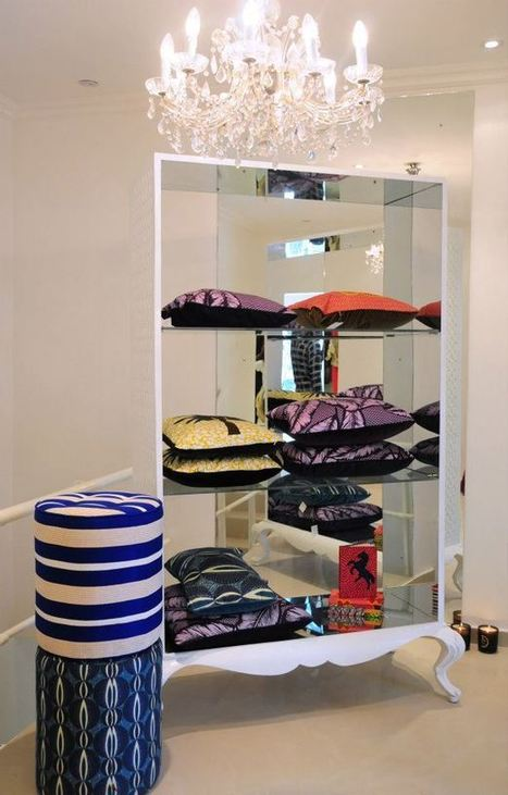 Décoration d'intérieur ethnique | Wax 'n Deco - Linge de maison en tissu wax | WaxinDeco | Scoop.it