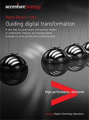 Strategies for the #Digital Economy | Digital Density Index - #Accenture | Designing design thinking driven operations | Scoop.it
