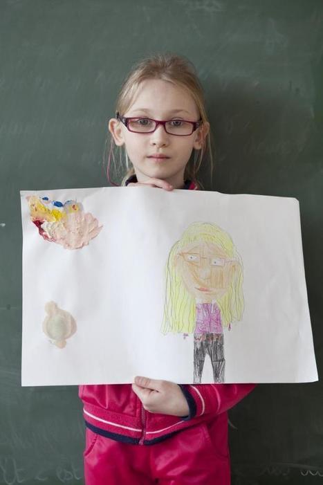 Les autoportraits (atelier 3 - français langue étrangère) | FLE enfants | Scoop.it