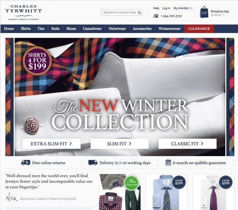 Best-in-Class eCommerce Web Designs via @conversioniq | Design Revolution | Scoop.it