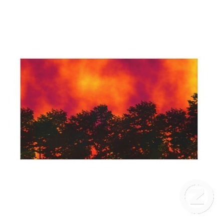 Fire in the Sky Wrapped Canvas Print from Zazzle.com | Wall Art | Scoop.it
