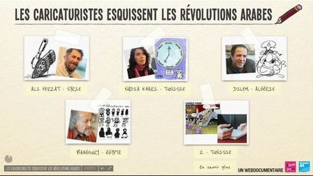 Les caricaturistes esquissent les révolutions arabes | France 24 | Remue-méninges FLE | Scoop.it