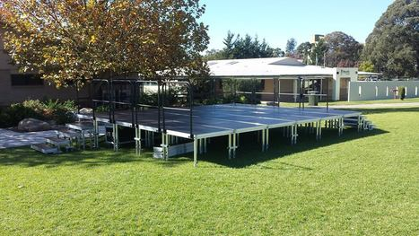 Outdoor Staging solutions | Transtage - Australia's Leading Staging Equipment Supplier | Scoop.it