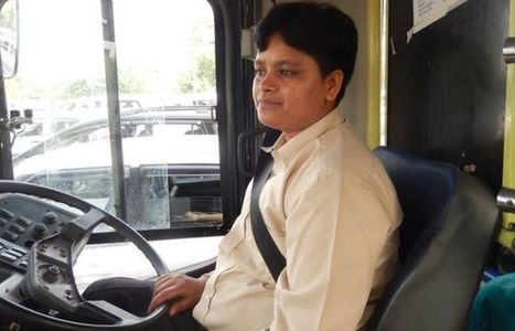 Delhi's first woman bus driver takes the wheel | A Voice of Our Own | Scoop.it
