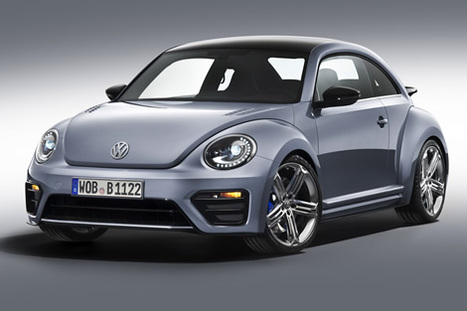 VW Beetle R Concept unveiled in L.A. - rpmGo.com | What Surrounds You | Scoop.it