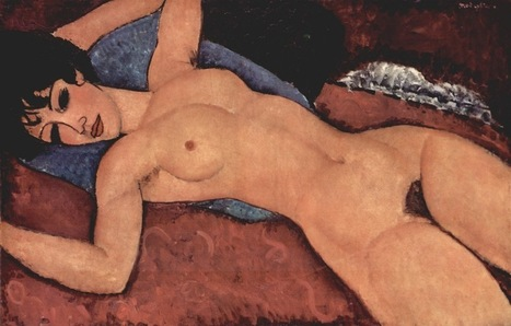Modigliani, Nu couché les bras ouverts | The Blog's Revue by OlivierSC | Scoop.it