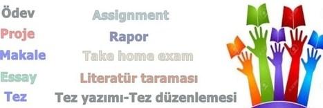 Ödev hazırlama - Üniversite Ödev Proje Tez Merkezi | Tez Konusu | Scoop.it