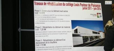 Collège Pasteur réhabilité : Le département a investi   7 . 300 . 000€ | Le Collège dans la presse | Scoop.it