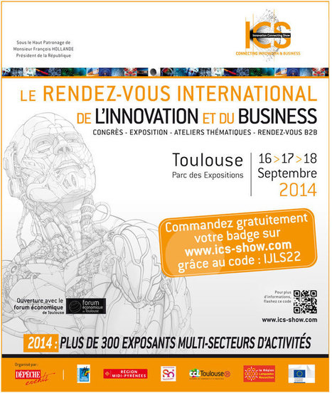 Salon ICS  16-17-18 septembre 2014 | La lettre de Toulouse | Scoop.it