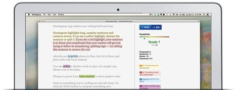 Hemingway App for Mac and PC | Content and Curation for Nonprofits | Scoop.it