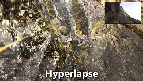 Researchers Develop Algorithm to Turn Erratic First-Person Footage Into Smooth Hyperlapse Videos   Amazing Science   Scoop.it