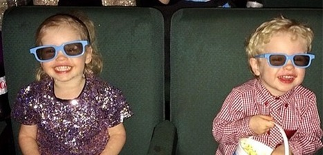 Neil Patrick Harris, David Burtka, and Their Adorable Twins Have a Movie Date   Family and Parenting Articles   Scoop.it