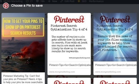 How to Get Readers to Pin a Specific Image from Your Blog | Pinterest | Scoop.it