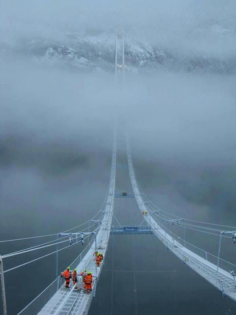 Bridge In Norway through Clouds | My Photo | Scoop.it