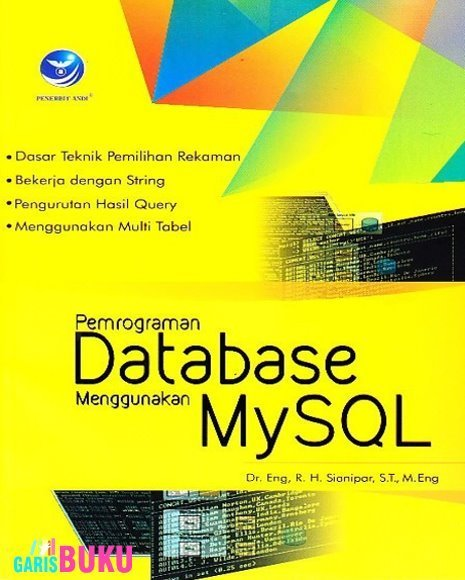 Pemrograman Database Menggunakan MySQL   KatalogBukuOnline   Scoop.it