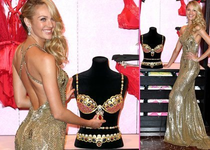Candice Swanepoel Reveals the $10 Million VS Royal Fantasy Bra in the Big Apple - Sexy Balla | Daily News About Sexy Balla | Scoop.it