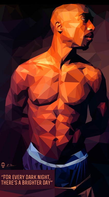 25 Amazing Low-Poly Portrait Illustrations for Inspiration | Creative advertising | Scoop.it