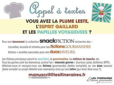 "AT collection ""Snackfiction"" - Éditions Les Itinéraires 